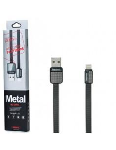 Кабель (плоский) Remax RC-044m Platinum Lighting 1м (2.1A)