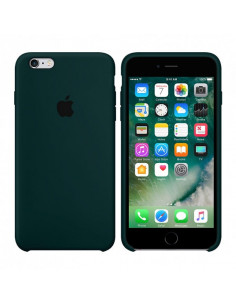 Чехол Silicone case для iPhone 6/6S Forest Green