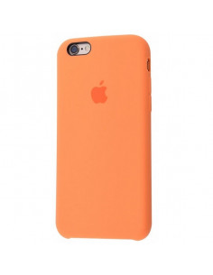 Чехол Silicone case для iPhone 6/6S Papaya