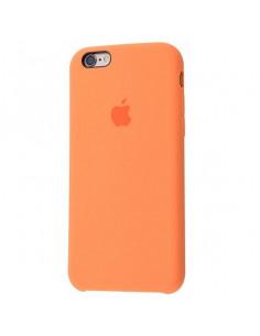 Чехол Silicone case для iPhone 6 / 6S Papaya