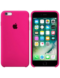Чехол Silicone case для iPhone 6/6S Hot Pink
