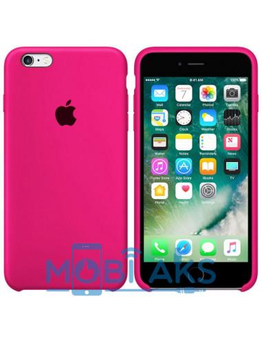 Чехол Silicone case для iPhone 6 / 6S Hot Pink