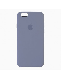 Чехол Silicone case для iPhone 6/6S Lavander Grey