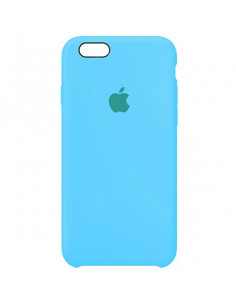 Чехол Silicone case для iPhone 6/6S Royal blue