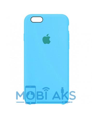 Чехол Silicone case для iPhone 6 / 6S Royal blue