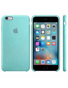 Чехол Silicone case для iPhone 6/6S Sea blue