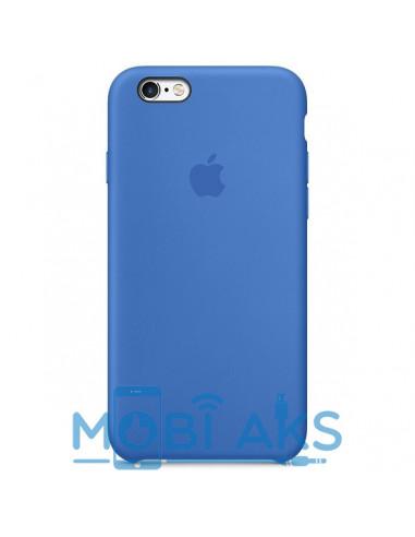 Чехол Silicone case для iPhone 6 / 6S Blue