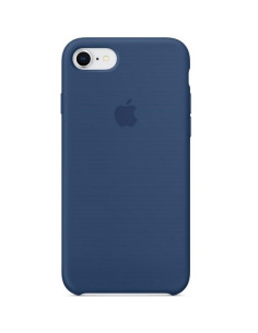 Чехол Silicone case для iPhone 6/6S Blue cobalt