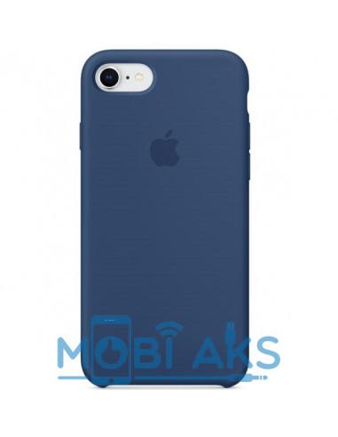 Чехол Silicone case для iPhone 6 / 6S Blue cobalt