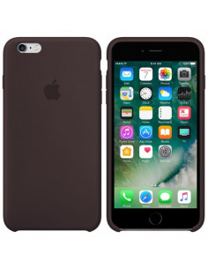 Чехол Silicone case для iPhone 6/6S Cocoa