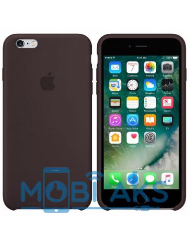 Чехол Silicone case для iPhone 6 / 6S Cocoa