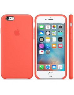 Чехол Silicone case для iPhone 6 / 6S Coral