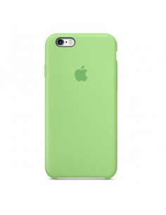 Чехол Silicone case для iPhone 6/6S Green