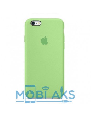 Чехол Silicone case для iPhone 6 / 6S Green