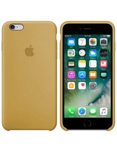 Чехол Silicone case для iPhone 6/6S Gold