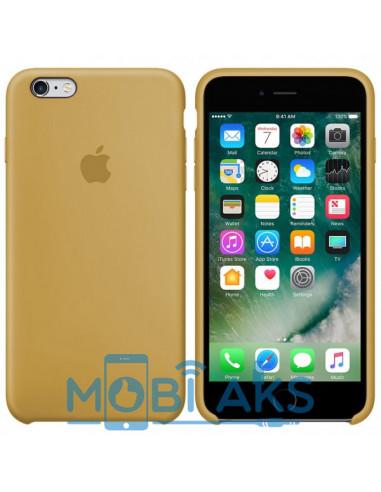 Чехол Silicone case для iPhone 6 / 6S Gold