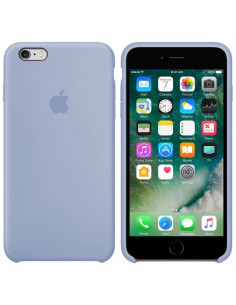 Чехол Silicone case для iPhone 6/6S Light blue