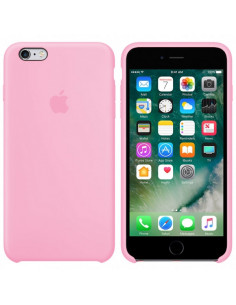 Чехол Silicone case для iPhone 6/6S Light pink