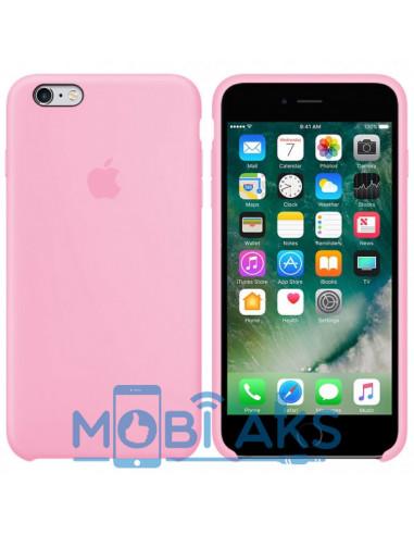 Чехол Silicone case для iPhone 6 / 6S Light pink