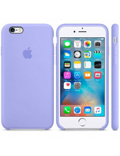 Чехол Silicone case для iPhone 6 / 6S Lilac
