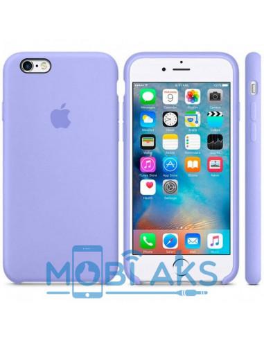 Чехол Silicone case для iPhone 6 / 6S Lilac