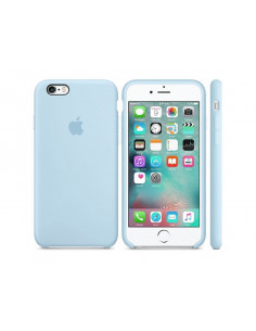 Чехол Silicone case для iPhone 6/6S Lilac cream