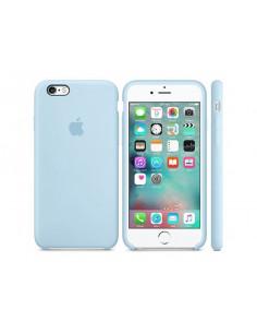 Чехол Silicone case для iPhone 6 / 6S Lilac cream