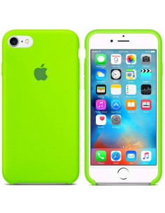 Чехол Silicone case для iPhone 6/6S Lime green