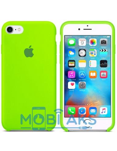 Чехол Silicone case для iPhone 6 / 6S Lime green