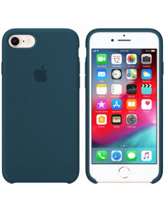 Чехол Silicone case для iPhone 6/6S Mist blue