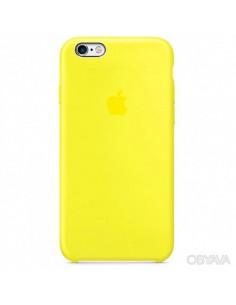 Чехол Silicone case для iPhone 6 / 6S New yellow