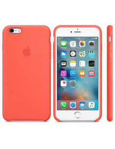 Чехол Silicone case для iPhone 6/6S New apricot