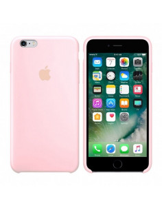 Чехол Silicone case для iPhone 6 / 6S Pink sand