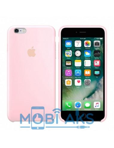 Чехол Silicone case для iPhone 6 / 6S Pink sand
