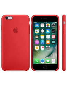 Чехол Silicone case для iPhone 6/6S Red