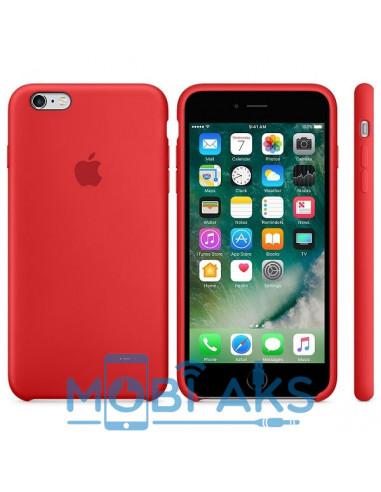 Чехол Silicone case для iPhone 6 / 6S Red