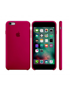 Чехол Silicone case для iPhone 6/6S Rose red