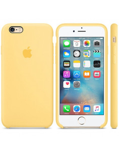 Чехол Silicone case для iPhone 6/6S Yellow
