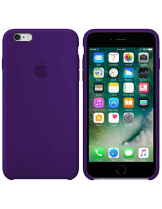 Чехол Silicone case для iPhone 6/6S Ultra violet