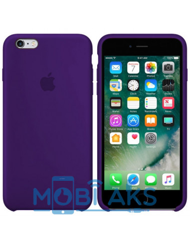 Чехол Silicone case для iPhone 6 / 6S Ultra violet