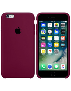 Чехол Silicone case для iPhone 6/6S Marsala