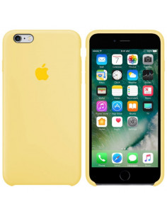 Чехол Silicone case iPhone 6/6S Mellow Yellow