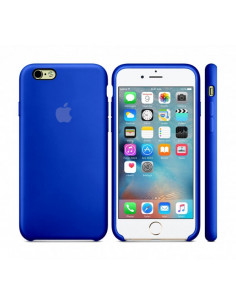 Чехол Silicone case iPhone 6/6S Ultra Blue