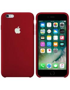 Чехол Silicone case для iPhone 6 / 6S Camelia White