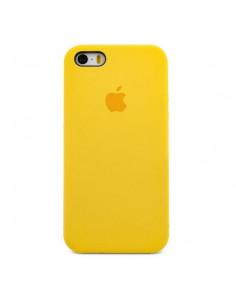 Чехол Silicone case для iPhone 5|5S|SE Yellow (Желтый)