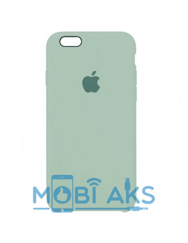 Чехол Silicone case для iPhone 5 / 5S / SE Mint Gam