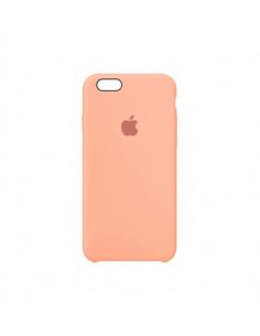 Чехол Silicone case для iPhone 5|5S|SE Peach