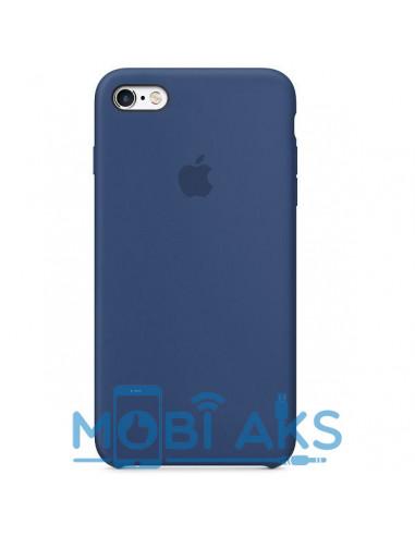 Чехол Silicone case для iPhone 5 / 5S / SE Alaskan Blue