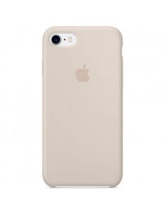 Чехол Silicone case для iPhone 5|5S|SE Antique White (силикон кейс)