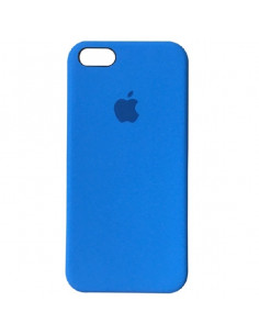 Чехол Apple Silicone case для iPhone 5 / 5S / SE Blue (синий)